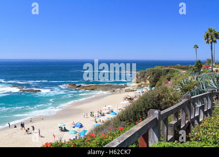 Treasure Island Park, Laguna Beach, California - Stock Photo