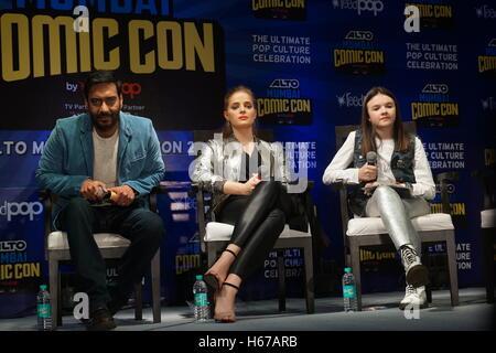 Ajay Devgan ,Erika Kaaras,. Abigail Eames, - Stock Photo