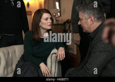 JULIANNE MOORE & ALEC BALDWIN STILL ALICE (2014) - Stock Photo