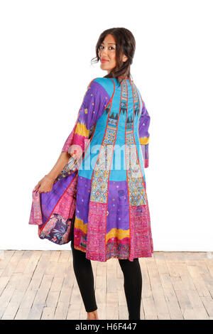 Fashion Photo Shoot, Mieko Mintz Studio, NYC, USA - Stock Photo