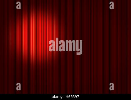 indicate show act performance cinema curtains red stage indicate show presentation entertainment famous entrance - Stock Photo
