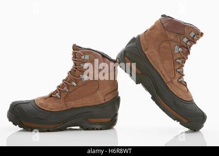 winter boots - Stock Photo