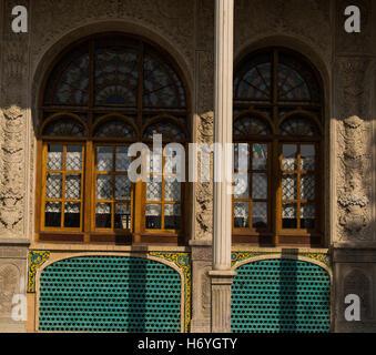 masoudieh mansion - Stock Photo