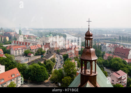 top view of Stettin - Stock Photo
