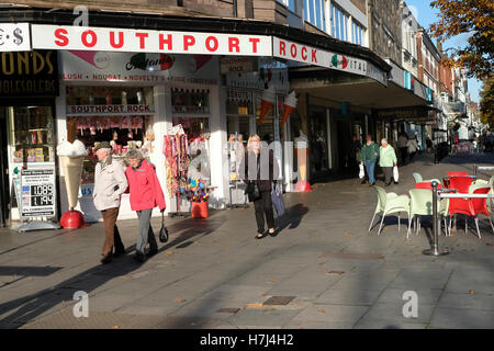 Southport, Lord Street - Stock Photo
