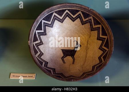 Colorado, Mesa Verde National Park, Chapin Mesa Archaeological Museum, Ancestral Puebloan pottery - Stock Photo