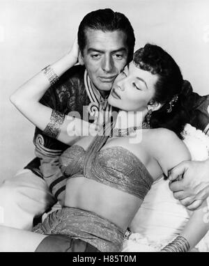 Prinz von Bagdad, (THE VEILS OF BAGDAD) USA 1953, Regie: George Sherman, VICTOR MATURE, MARI BLANCHARD, Stichwort: - Stock Photo