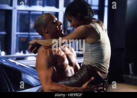 The Fast and the Furious, (THE FAST AND THE FURIOUS) USA 2001, Regie: Rob Cohen, VIN DIESEL, MICHELLE RODRIGUEZ, - Stock Photo