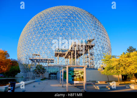 The biosphere, Parc Jean Drapeau, Montreal, Canada - Stock Photo