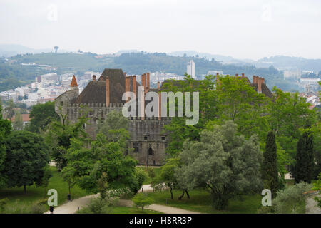Palace of the Dukes of Bragança in Guimarães, Portugal, Europe - Stock Photo