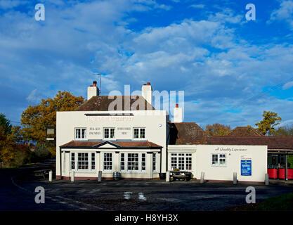 The Barley Mow pub, Winchfield, Hampshire, England UK - Stock Photo