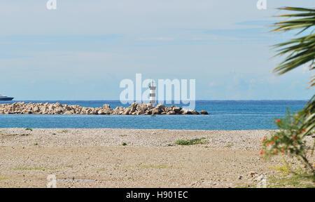 Port of Bar. Montenegro state - Stock Photo