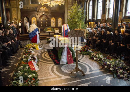 Copenhagen, Denmark. 10th Jan, 2017. A funeral service for Prince Dimitri Romanovich Romanov of the House of Romanov - Stock Photo