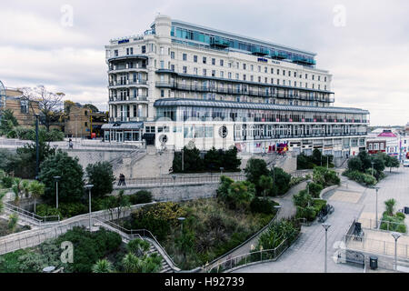 Grosvenor Casino & Park Inn Palace by Radisson, Hotel with accommodation and scenic views. Southend-on-sea, Essex,England - Stock Photo