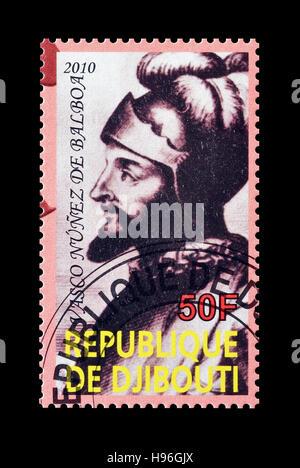 Djibouti stamp 2010 - Stock Photo