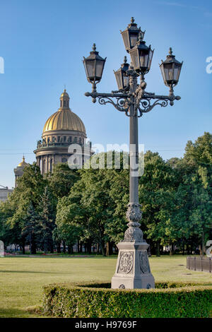 St Isaacs cathedral. St Petersburg. Russia - Stock Photo