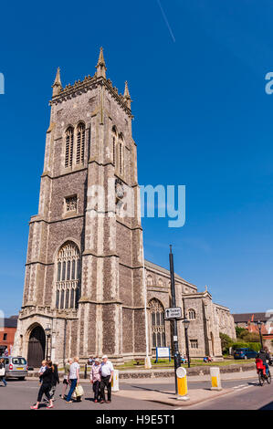 The Church of St. Peter and St. Paul in Cromer , Norfolk , England , Britain , Uk - Stock Photo