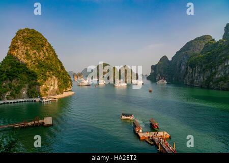 Halong Bay, Vietnam, Asia - Stock Photo