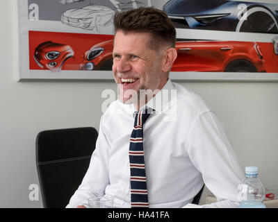 Klaus Busse head of design at Fiat Centro Stile - Stock Photo