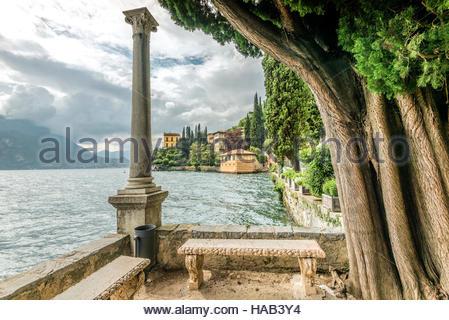 Botanic Garden of Villa Monastero, Varenna, Lombardy, Italy | Botanischer Garten der Villa Monastero, Varenna, Lombardei, - Stock Photo