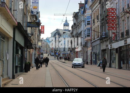 Center of Le Mans, France, Europe - Stock Photo