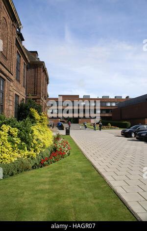 Hull university campus, kingston upon Hull, City of culture 2017 - Stock Photo