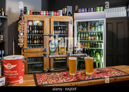 The front bar of the remote Prairie Hotel in outback Parachilna South Australia - Stock Photo