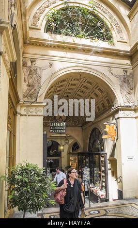 galerie vivienne - Stock Photo