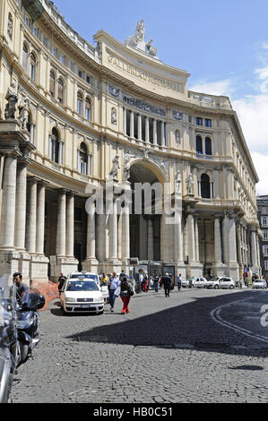 Galleria Umberto I, gallery, Naples, Italy - Stock Photo