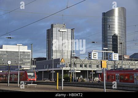 Main station, Dortmund, Germany - Stock Photo