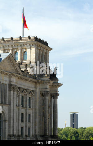 Reichstag Building 001. Berlin - Stock Photo