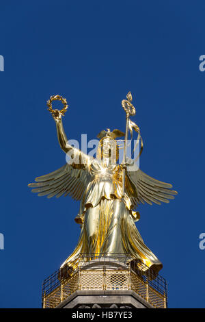 Victory Column in Berlin (Siegessaeule) - Stock Photo