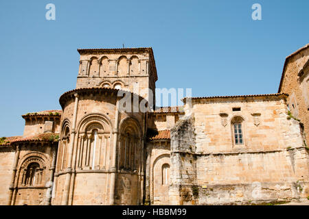 Collegiate & Cloister of Santa Juliana - Santillana del Mar - Spain - Stock Photo