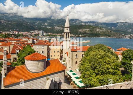 Budva in Montenegro - Stock Photo