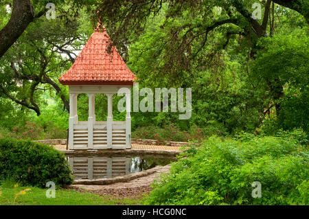 Bickler Cupola, Zilker Botanical Garden, Austin, Texas - Stock Photo