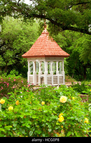 Bickler Cupola, Zilker Botanical Garden, Austin, Texas - Stock Photo