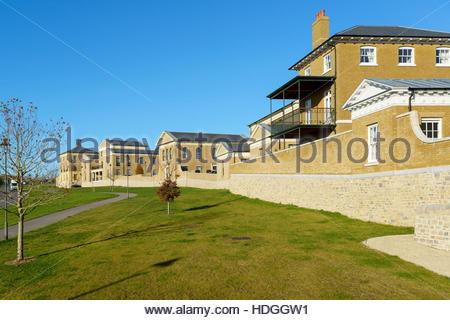 Poundbury, new town development, Dorchester, Dorset England - Stock Photo