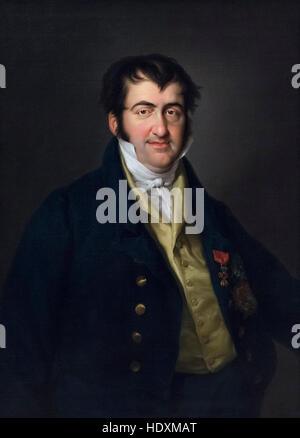 Vicente López Portaña (1772-1850), Portrait (1830) of Ferdinand VII King of Spain (1784–1833). - Stock Photo