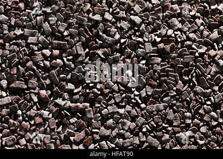 Dark chocolate texture background - Stock Photo