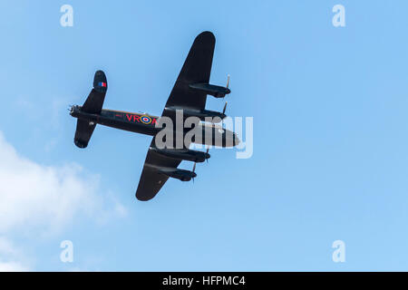 Canadian Warplane Heritage Museum vintage Avro Lancaster B.10 Bomber CG-VRA - Stock Photo