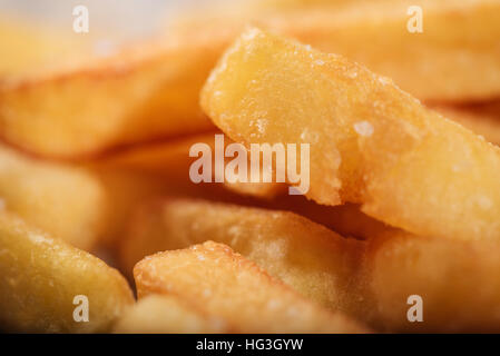Close up of tasty French fries - Stock Photo