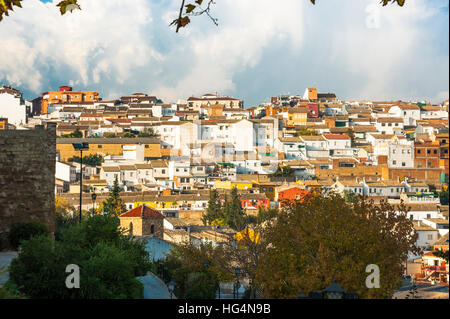 panorama of Ubeda, UNESCO world heritage site, province Jaen,  Andalusia, Spain - Stock Photo