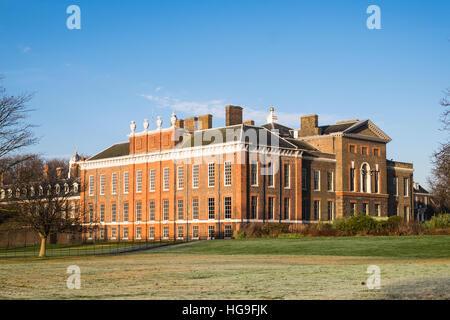Kensington Palace, London, England, U.K. - Stock Photo