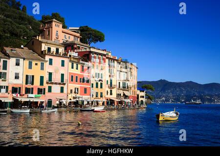 Portofino, Genova, Liguria, Italy - Stock Photo