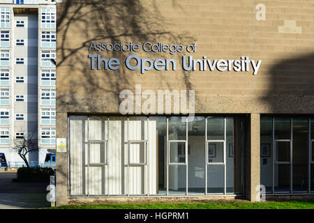 Kingston-Upon-Hull ,East Riding of Yorkshire,UK.Collage of open university . - Stock Photo