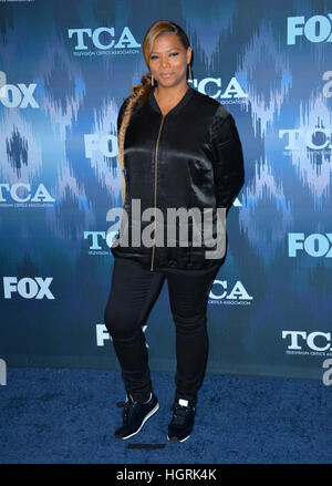 Pasadena, USA. 11th Jan, 2017. Queen Latifah at the Fox Winter TCA 2017 All-Star Party at the Langham Huntington - Stock Photo