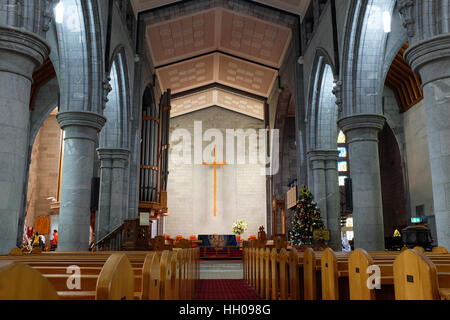 Christ Church Cathedral in Nelson, New Zealand. - Stock Photo