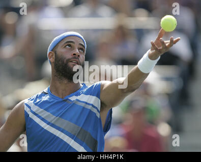 James Blake (USA) US Open 2007 USTA Billie Jean King National Tennis Center New York, USA - Stock Photo