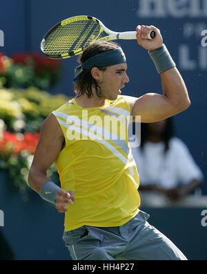 Rafael Nadal (ESP) US Open 2007 USTA Billie Jean King National Tennis Center New York, USA - Stock Photo