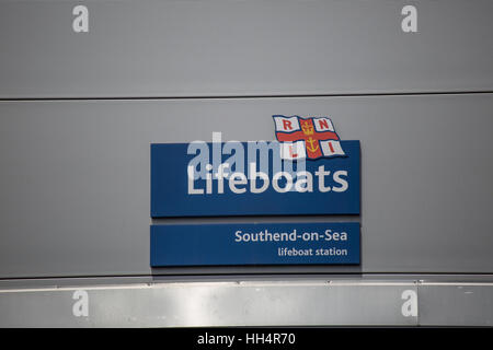 RNLI, Lifeboats, Southend-on-sea, Essex - Stock Photo